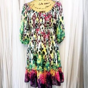 Daytrip sheer dress